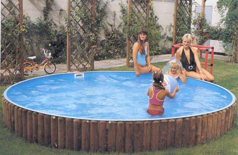 Rundpool - runde Schwimmbecken | pooldoktor.at