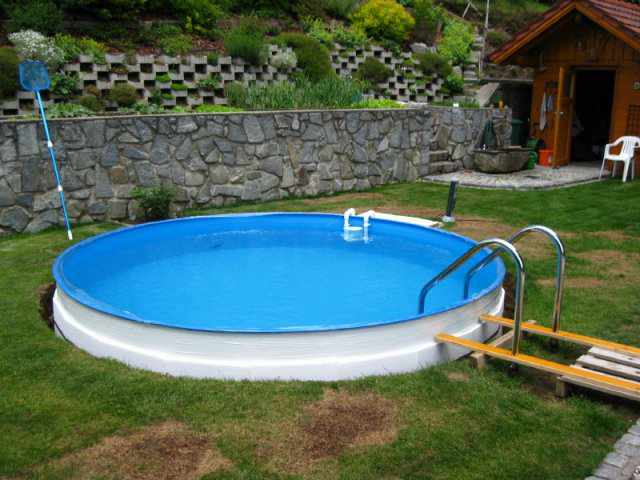 pool zum aufstellen excellent pool zum aufstellen garten pool gfk haus ideen pools near me free. Black Bedroom Furniture Sets. Home Design Ideas