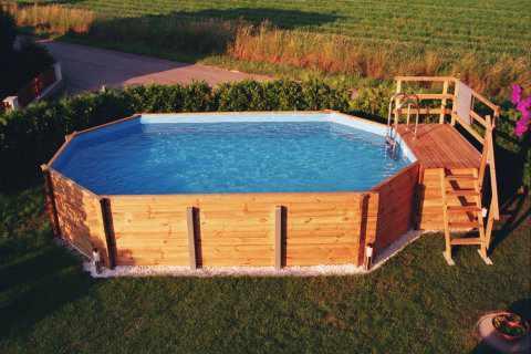 Holzpool weka aufbauanleitung vom pool aus holz - Holzpool aufbau ...
