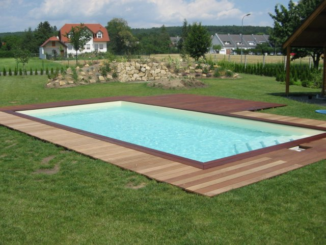 best holzumrandung pool selber bauen gallery. Black Bedroom Furniture Sets. Home Design Ideas