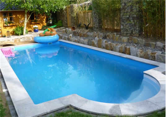 Granit randsteine f r schwimmbecken for Gewebefolie pool verlegen