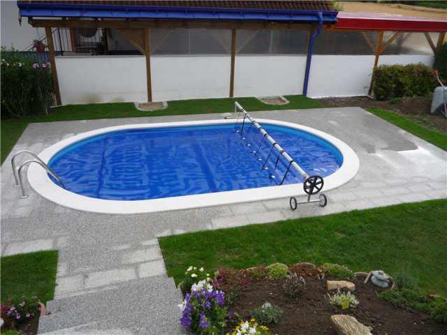 Ovaler pool komplett sets for Ovaler pool zum aufstellen