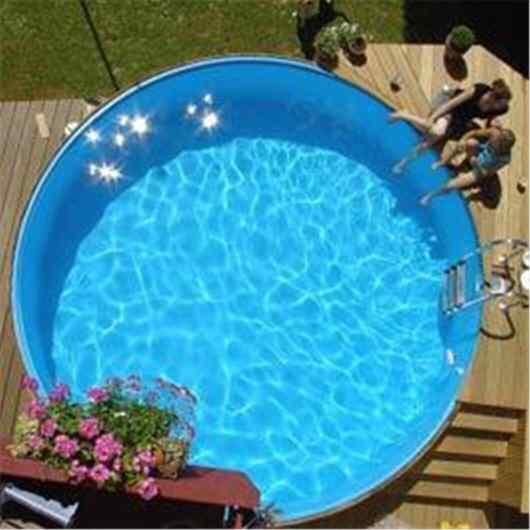 Pool bzw schwimmbecken selber bauen for Schwimmbecken rund stahlwand