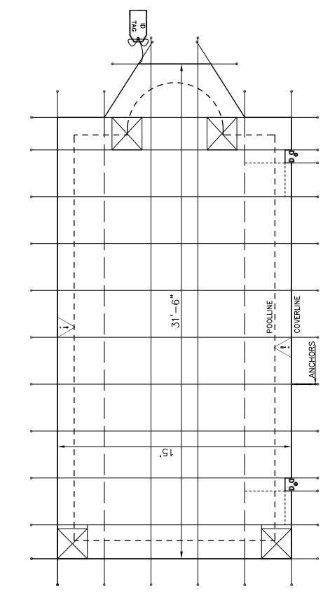 loop loc pool netz sicherheitsnetz f r winter. Black Bedroom Furniture Sets. Home Design Ideas