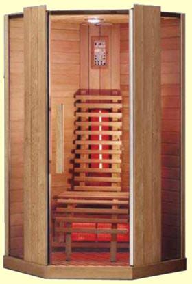 infrarotkabinen mit vollspektrumstrahlung sind der sonnenw rme nachempfunden mit a b c. Black Bedroom Furniture Sets. Home Design Ideas