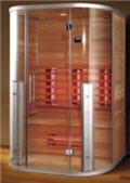 infrarotkabinen infrarotkabine infrarot w rmekabinen tiefenw rme infrarotkabinen. Black Bedroom Furniture Sets. Home Design Ideas