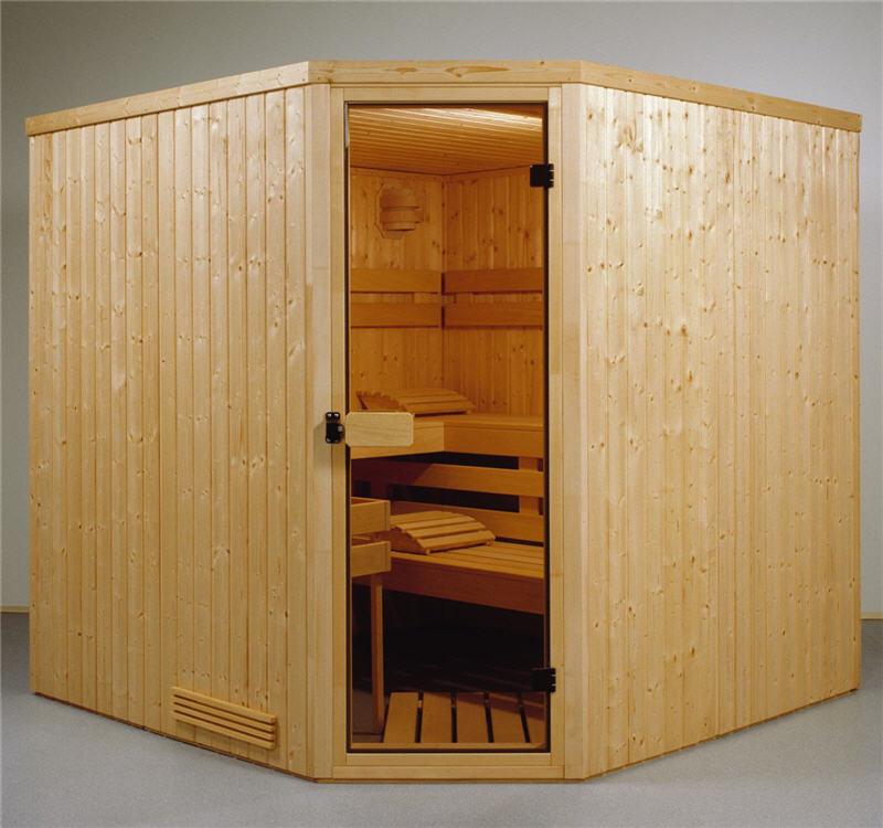 kombi sauna bausatz mit verdampfer und infrarot. Black Bedroom Furniture Sets. Home Design Ideas